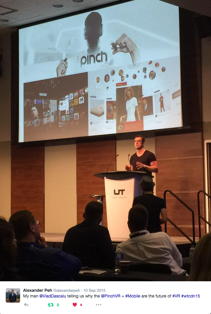 Here's a tweet capturing the moment from our friend Alexander Peh, Head of Market Development & Mobile at PayPal Canada.