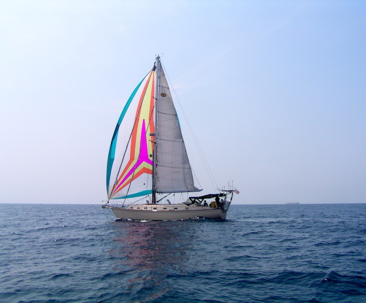sailboat at sea
