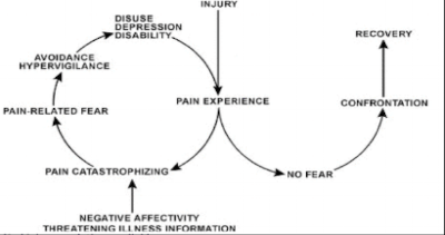 Pain recovering diagram