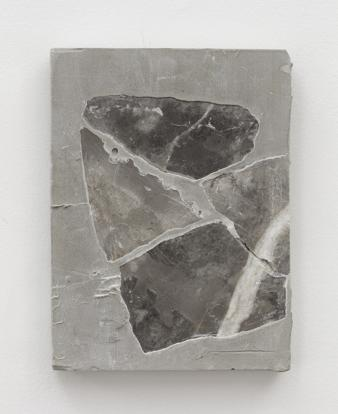 Sam Moyer Untitled, 2017 marble, cement 8 x 6 x 1 in