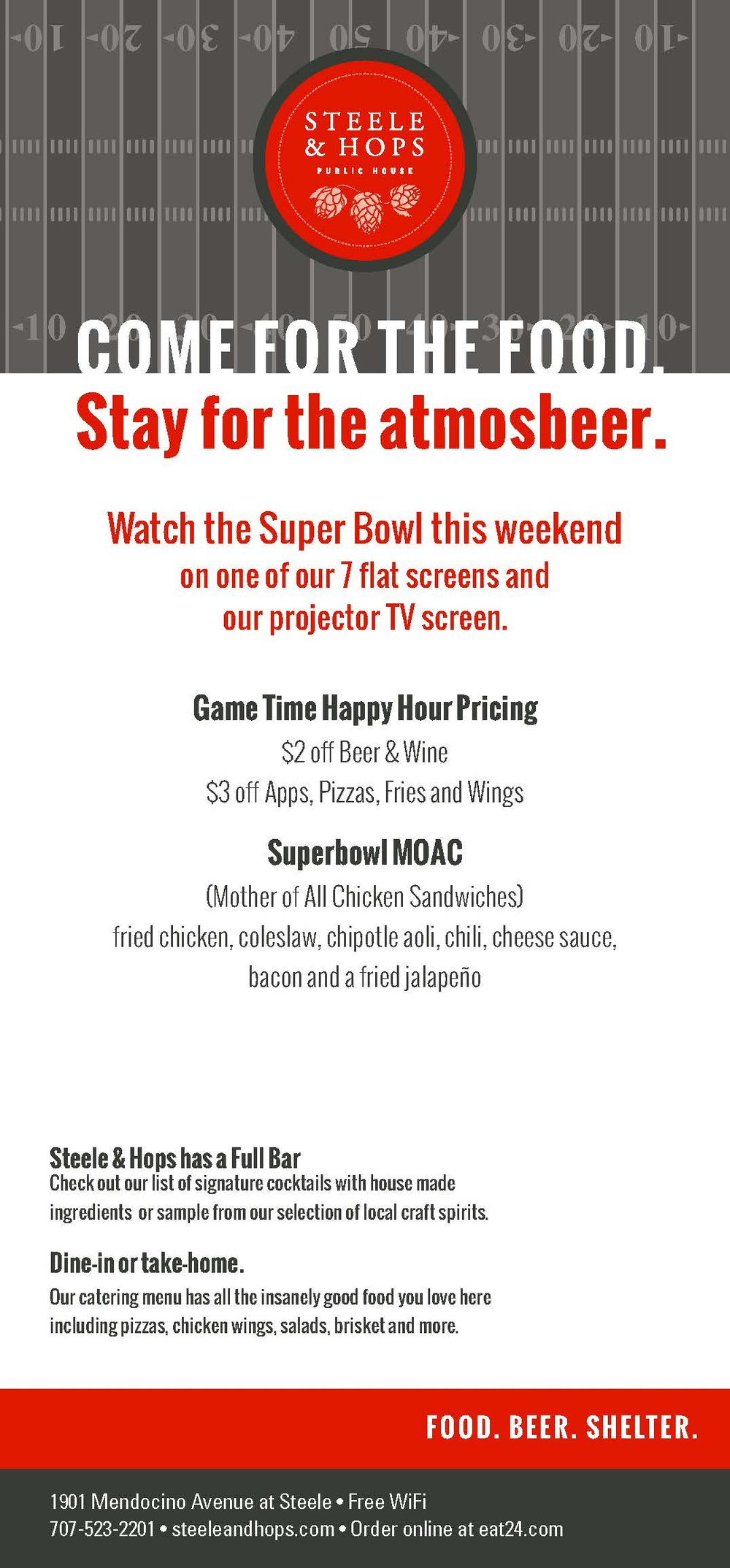 superbowl flier