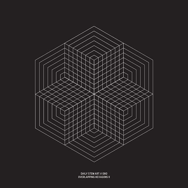 080 // Overlapping Hexagons II