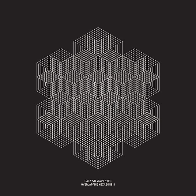 081 // Overlapping Hexagons III