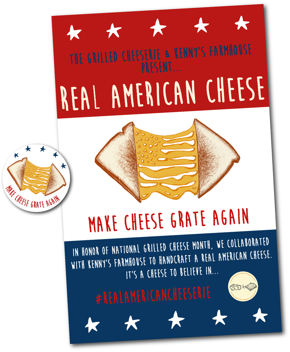 Celebrate National Grilled Cheese Month with REAL American Cheese and The Grilled Cheeserie in Nashville, Tennessee!