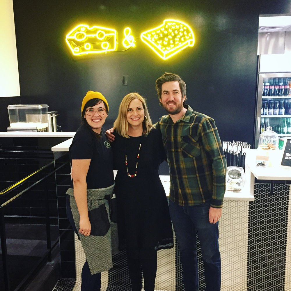 We were delighted to have Mayor Megan Barry stop by