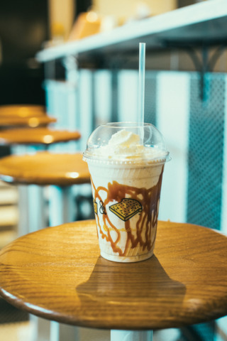 The Hopscotch Milkshake  Photo: DANIEL MEIGS