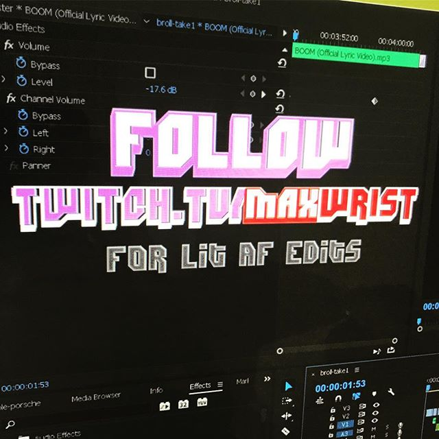 Advanced editing stream on @twitch today #bikefam 👌🏻 All new content. Start to finish! Gotta go check it out 😈😈💯💯🔥🔥