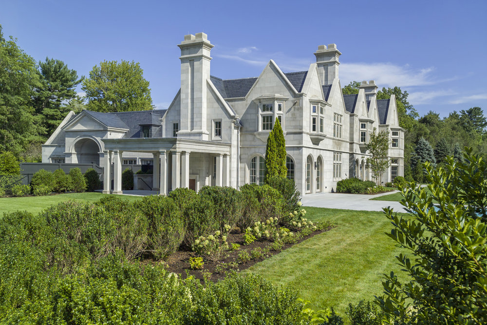 Limestone Residence, Greenwich CT 2016 Best Custom Home over 10,000 SF
