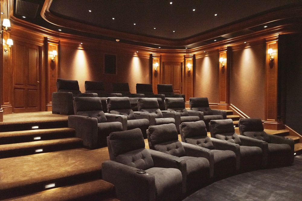 home theater soundproofing wood paneling ct interior w - Home Theater Design Group