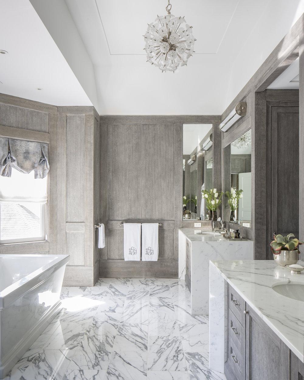 Bathroom Master Marble Old Greenwich Ct Interior W.