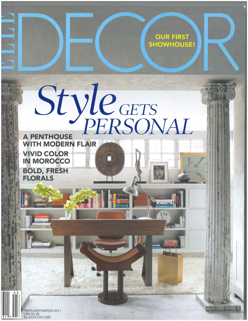 Elle Decor March 2011: Bronxville Renovation