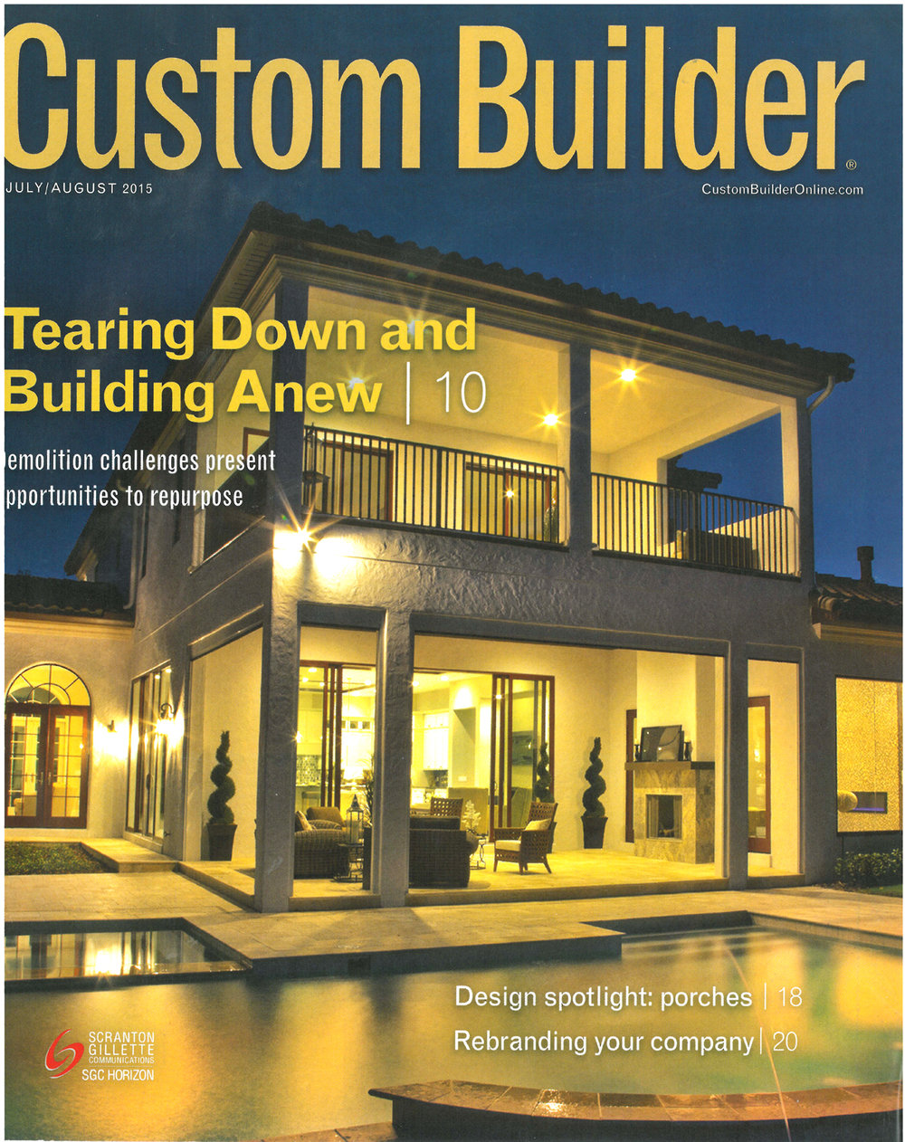 Custom Builder July-August 2015