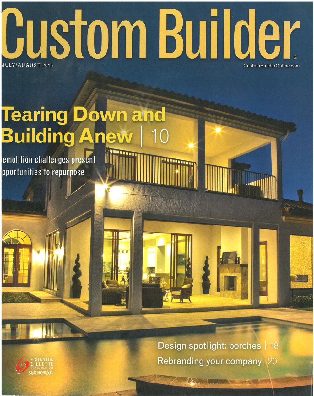 Custom Builder July-August 2015