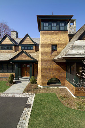 Contemporary Shingle Style, Old Greenwich