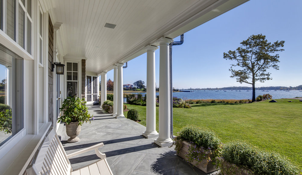 Riverside-CT-Waterfront-Shore-Colonial-Porch