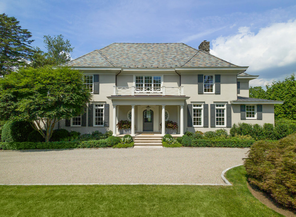Renovated Front Entry, Larchmont NY