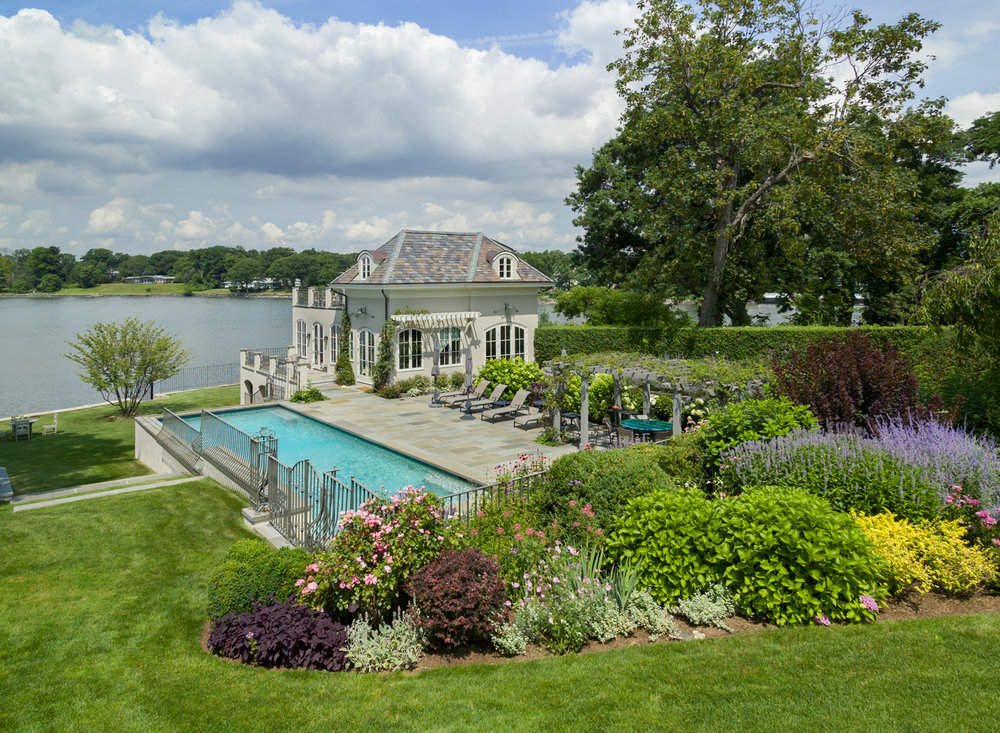 New Pool & Outbuilding, Larchmont NY
