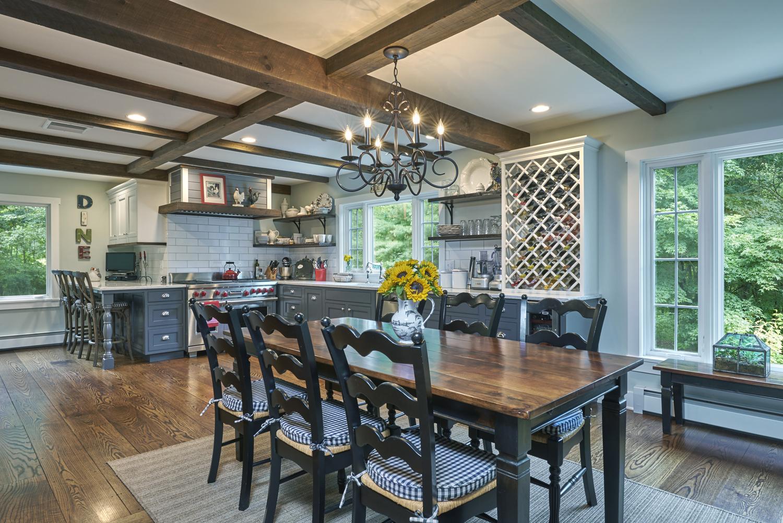 Davenport Home | Farmhouse Renovation | Redding CT