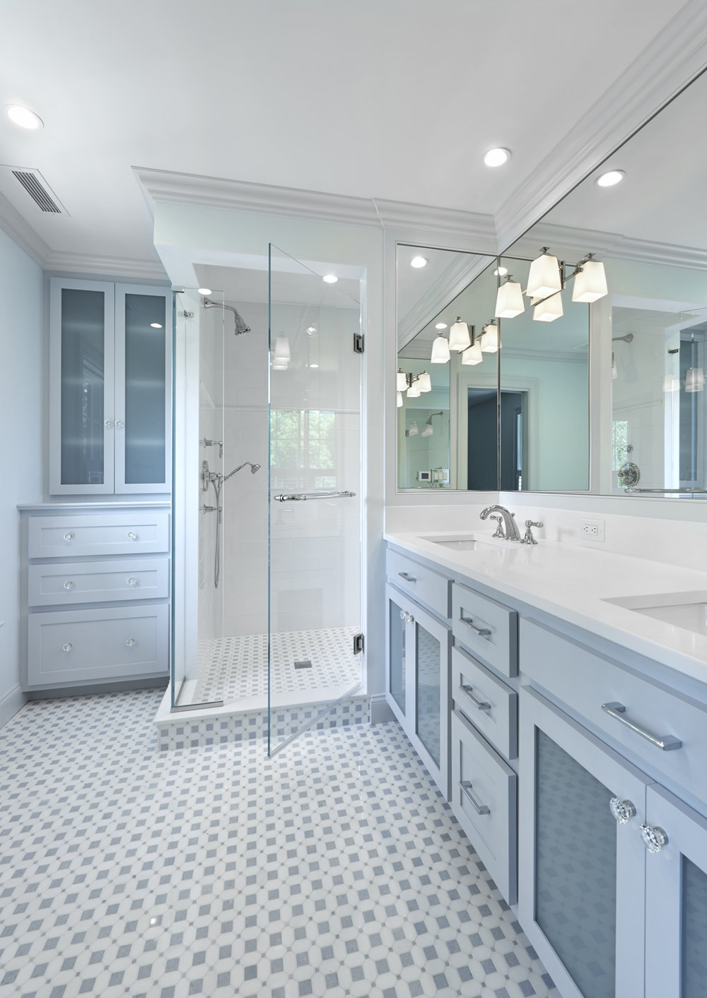 New Master Bath, Greenwich, CT