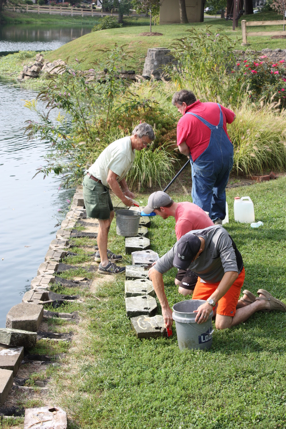 IMG_4931 FOL Repairing wall at Leclaire Lake 2015.JPG