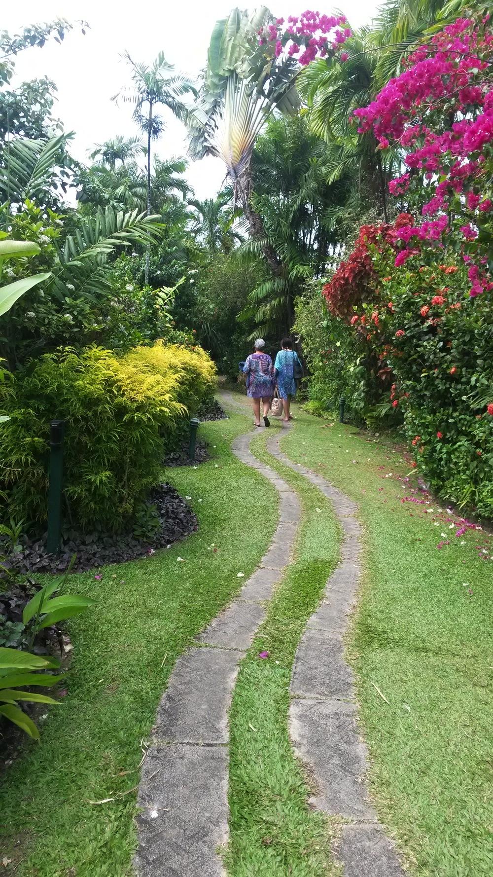Stroll the garden path