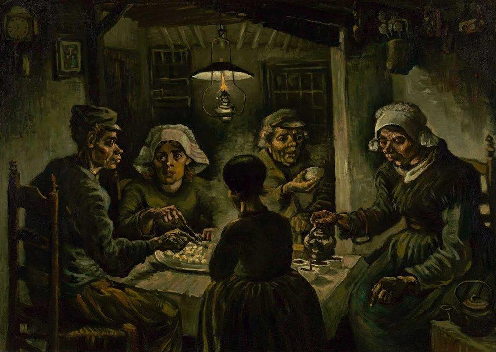 The Poteto Eaters - Van Gogh