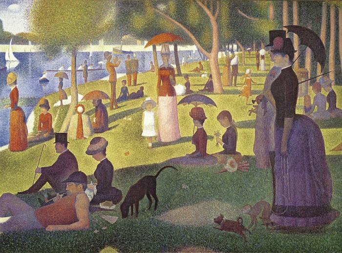 A Sunday Afternoon on the Island of La-Grande Jatte (Renoir)