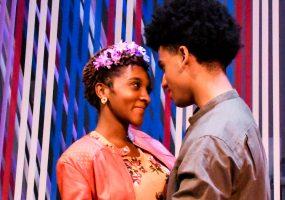 Princess Perdita (Jasmine Milan Williams) and Prince Florizel (Jacob Williams) meet and fall in love. Photo credit: Jay Yamada
