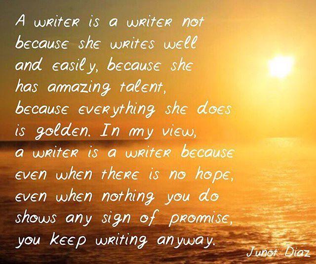🙌🏼 #authorsofinstagram #writersofinstagram #quoteoftheday #writerslife #quote
