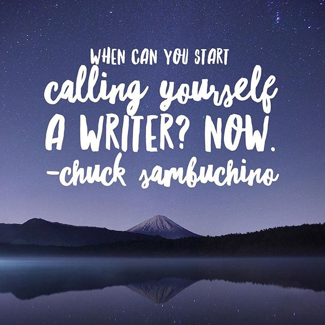Did you write today? Then congratulations, you're a writer! ✍🏼💙#writerslife #amwriting #writer #writersofinstagram