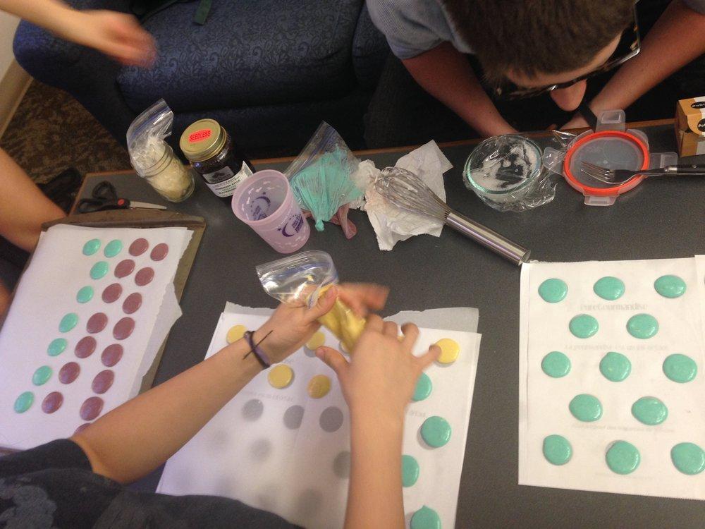 College Macaron Making at Georgia Tech