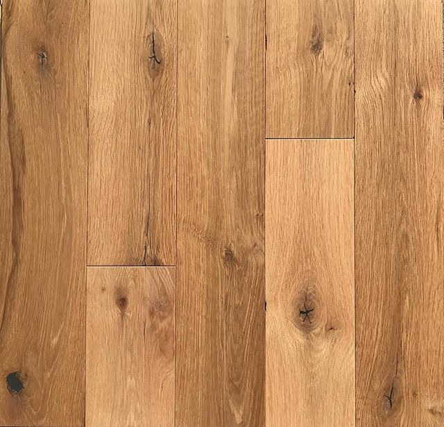 Prefer a natural look that won't break the bank? - Here's our Character Grade Reclaimed White Oak with Bona Traffic HD Extra Matte! - This product works fantastic in either commercial or residential applications and since the finish is water base, it is non toxic and allows for easier maintenance vs an oil. - Quotes 📥 info@oindcorp.com - #oindcorp #premiumwoodproducts #reclaimed #whiteoak #custom