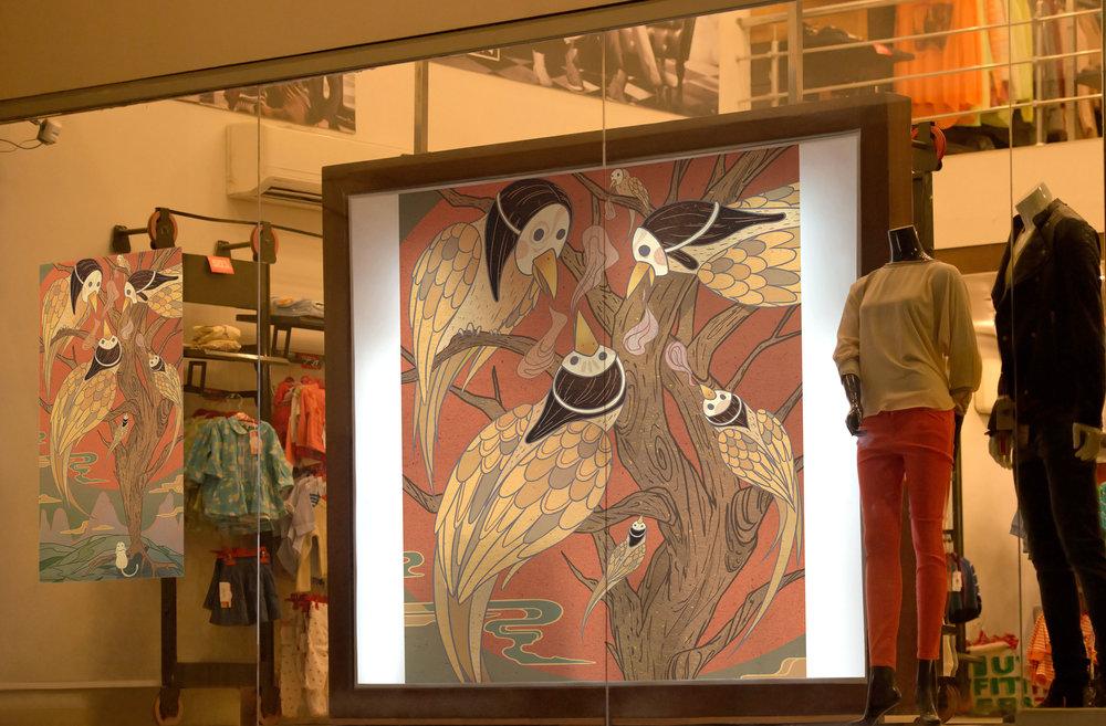 Store Show Window