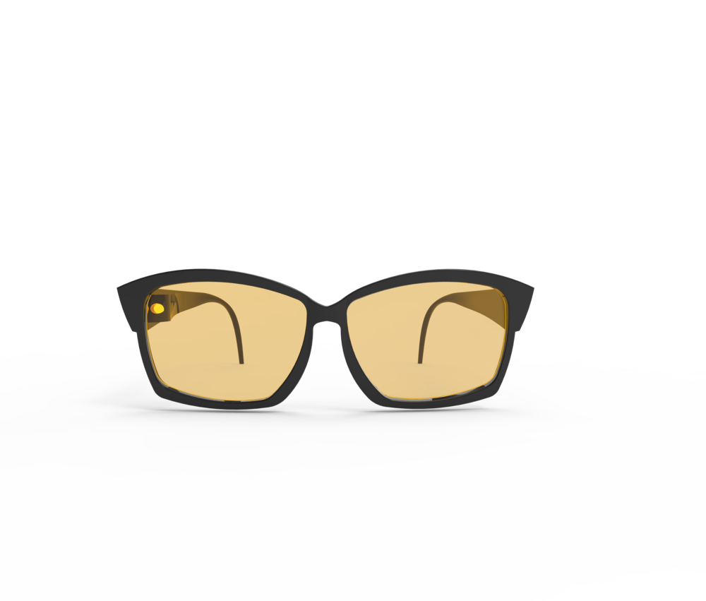 Renee's first glasses design from Spring of 2015