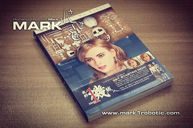 """I am now officially launched my new project on Indiegogo!  Appreciated your support and share to your friends! """"  MARK 1 ROBOT"""" MANUAL BOOK I believe it can inspire and let you understand more about life-like humanoid robot development.  Indiegogo link: https://lnkd.in/fy6rsP6"""