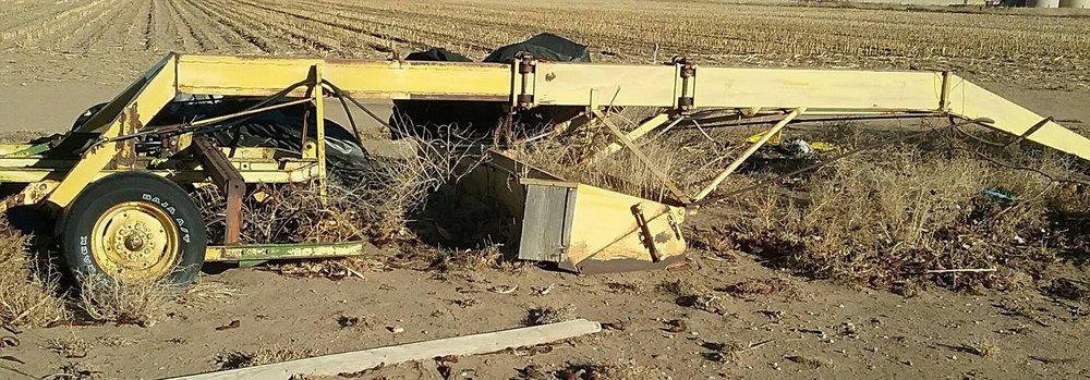 Eversman landplane w/ John Deere mulcher