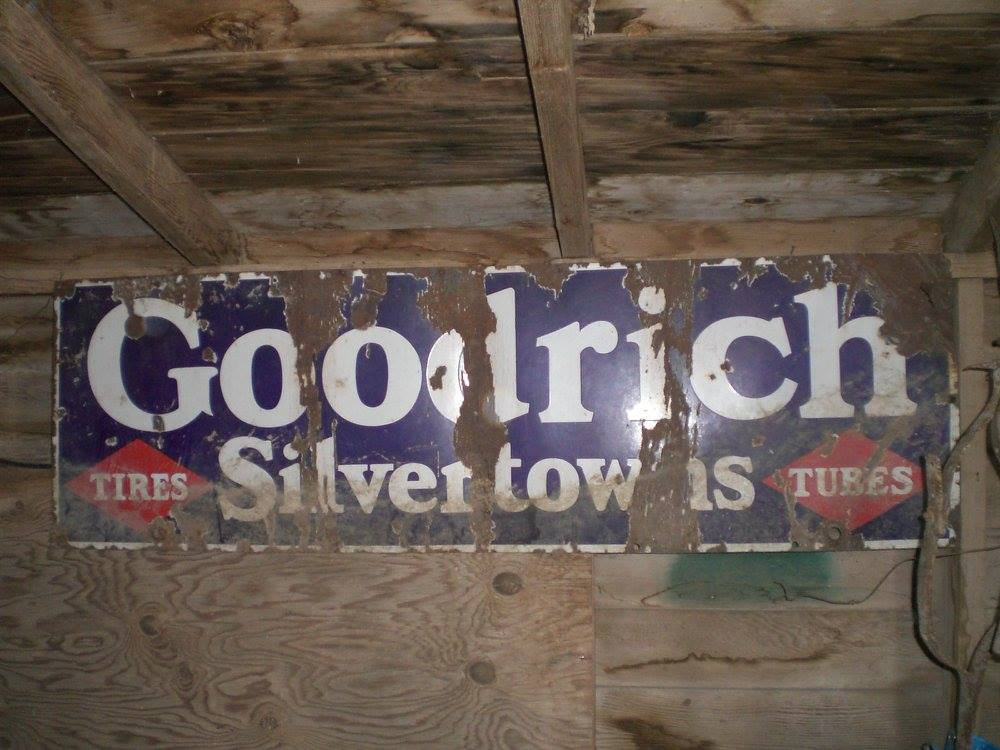 Goodrich tires sign