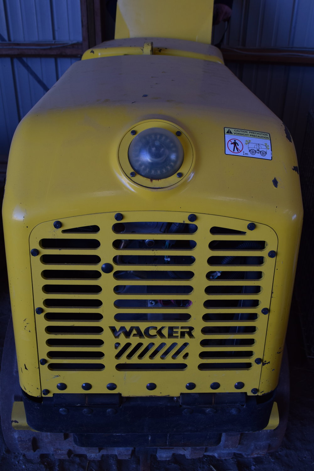 Wacker trench packer, vibrator, remote operated