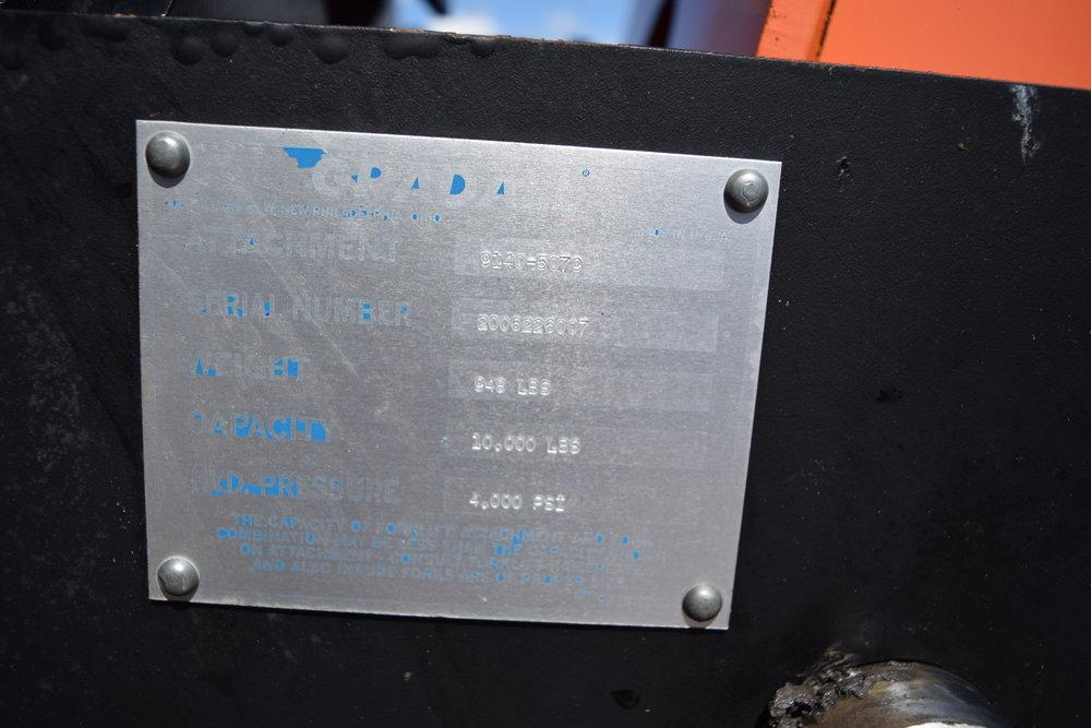 JLG G-10-55A telehandler w/ forks, 1,906 hrs