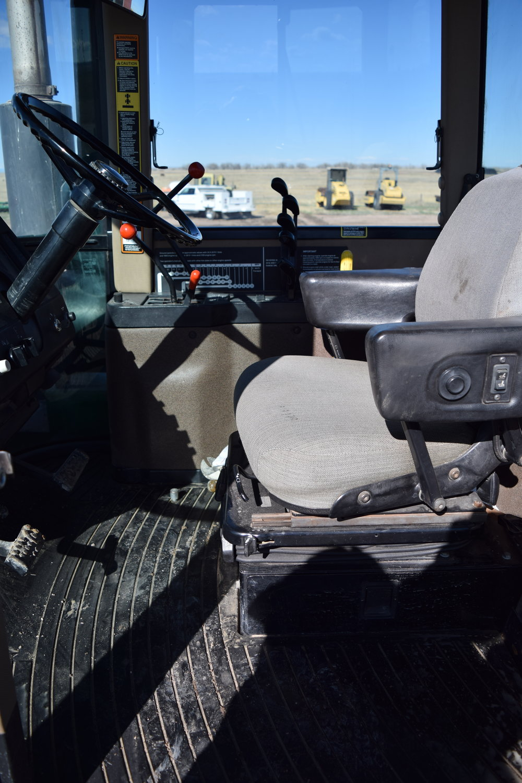 JD 8770 4x4 Tractor w/ Degelman 14' angle & tilt dozer