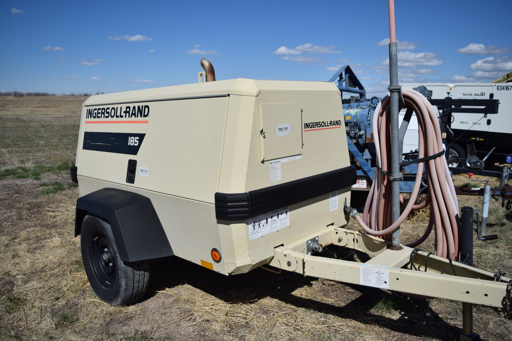 Ingersoll-Rand I85 air compressor
