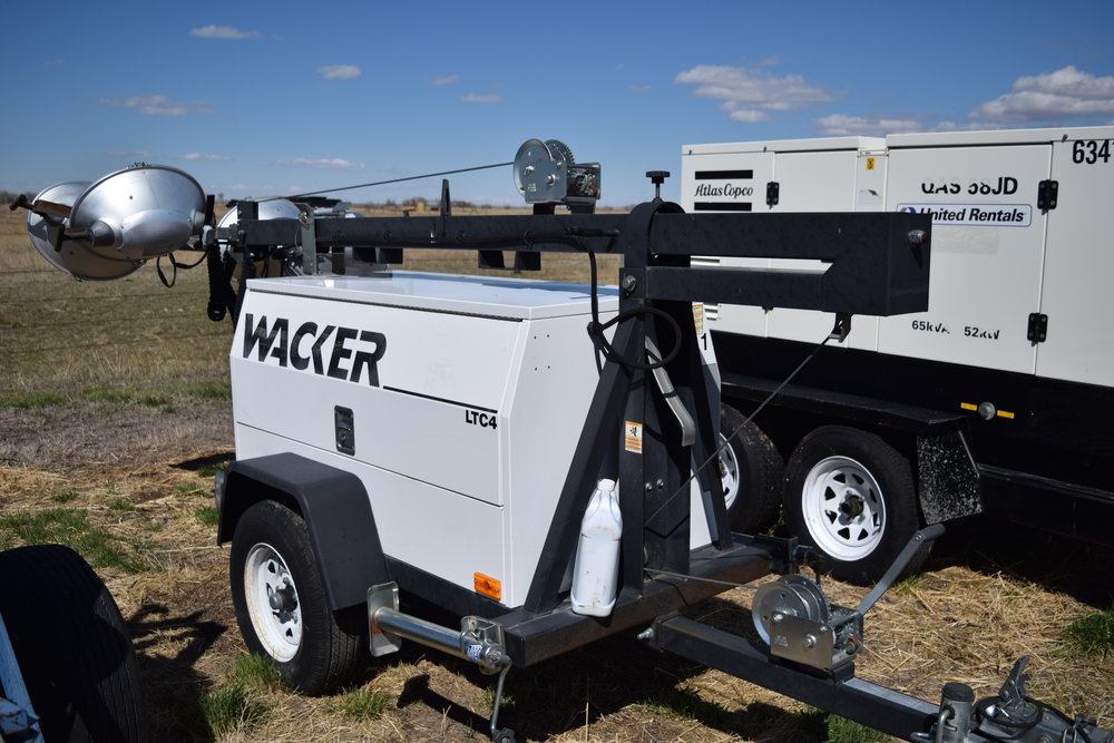 Wacker LTC4 generator & light plant