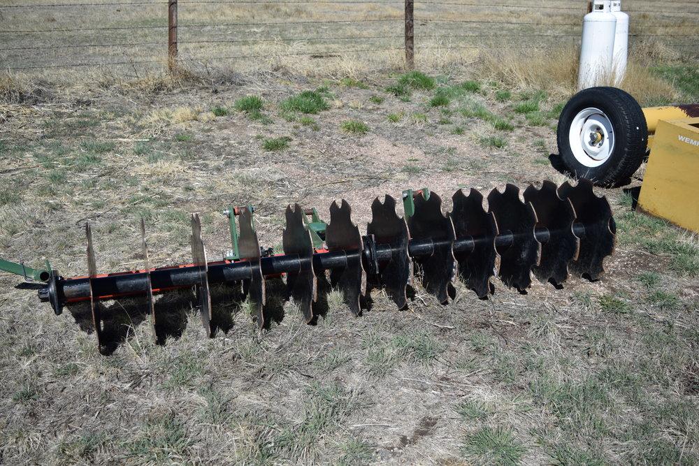 Brillion mulch incorp;