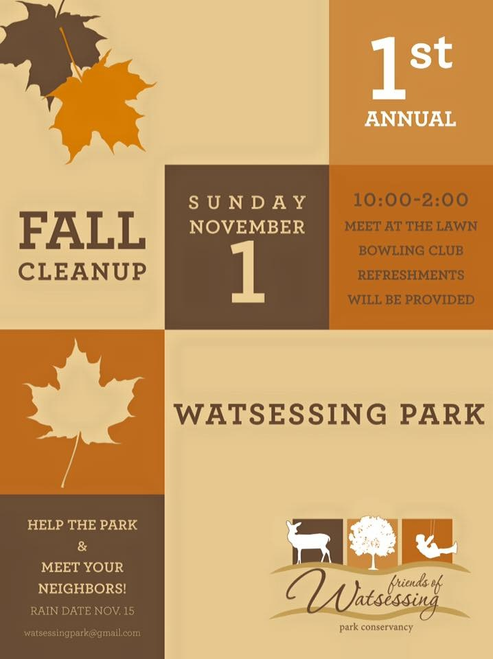 Cleanups Friends Of Watsessing Park Conservancy