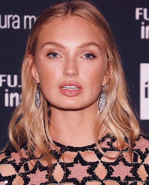 Romee Strijd in Jared Lehr