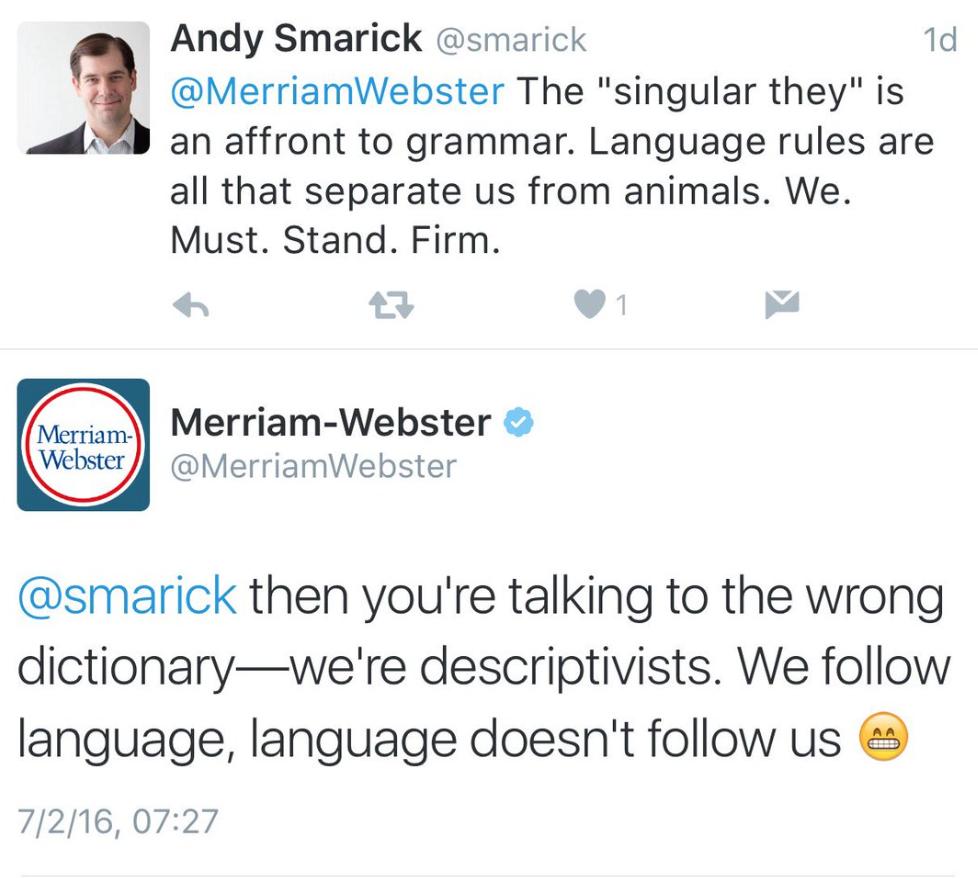 Acceptable gender neutral singular pronoun?