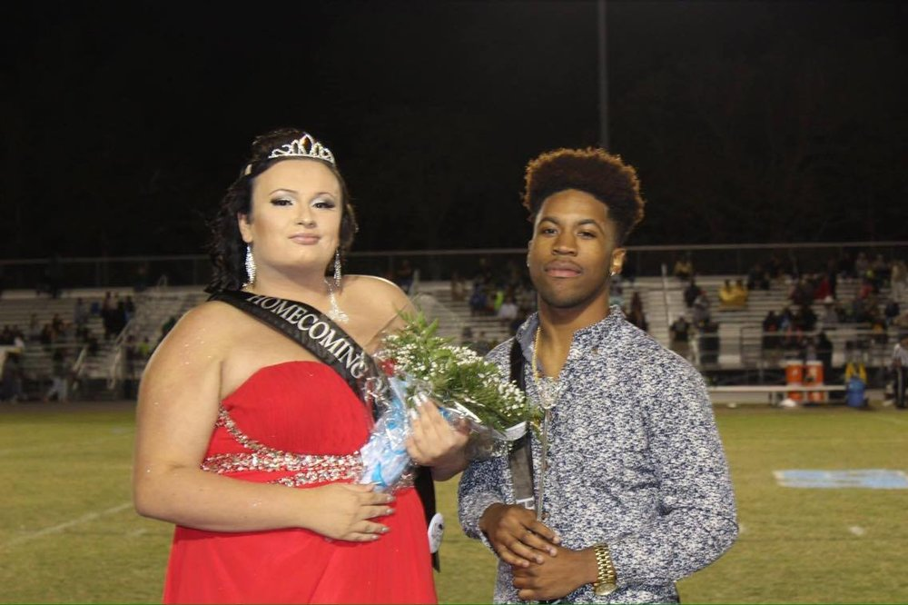 Photo by Dakota Vickers; Homecoming King is Dayvon Martin
