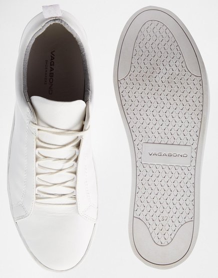 Zoe Leather White Trainers / Vagabond $127.07