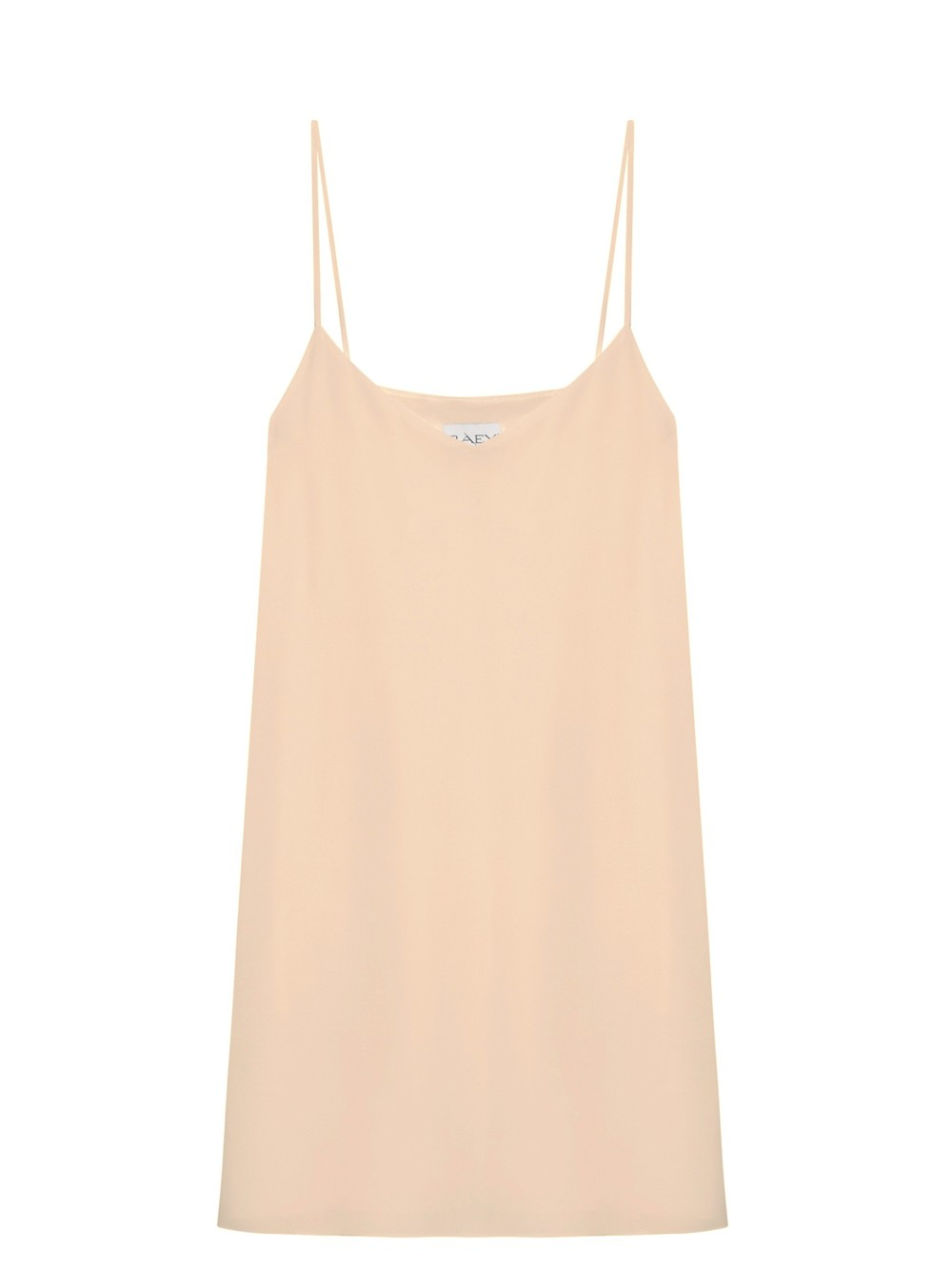 Deep V Silk Slip Dress