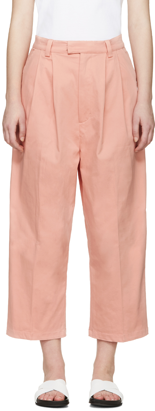 Pink Twill Pike Trouser